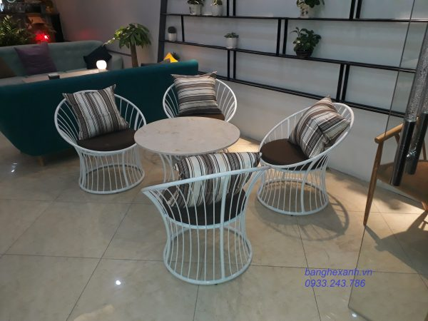 Bàn Ghế Cafe Cao Cấp TL503