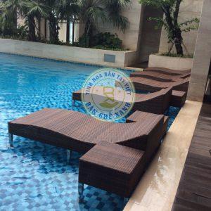 Ghế Nằm Bể Bơi Chìm BB15