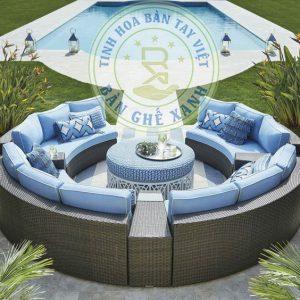 Sofa Quay Tron May Nhua SF1A43