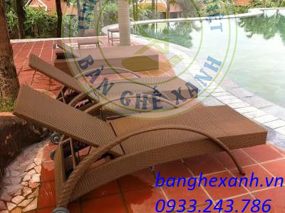 Giường Tắm Nắng Bể Bơi 3A27