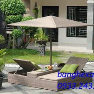 Giường Tắm Nắng Sân Vườn 3A39