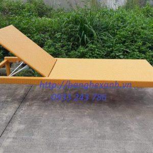 Ghế Bể Bơi Mây Nhựa BB21
