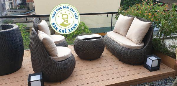 Sofa Sân Vườn SV12